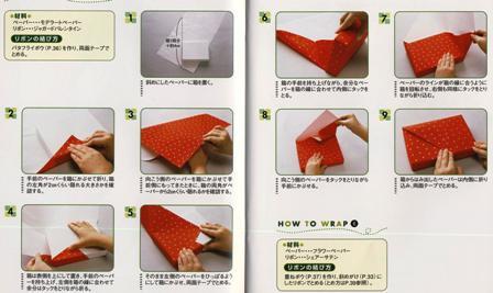 Fait main sophie no sekai le monde de sophie - Pliage papier cadeau ...